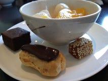 Een heerlijk Dessert royalty-vrije stock afbeelding