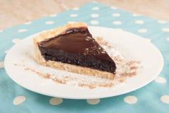 Een heerlijke chocoladecake Stock Afbeeldingen