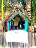 Een heiligdom aan Mary stock fotografie