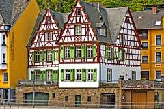 Een helft-Betimmerend Huis, Cochem, Duitsland Stock Fotografie