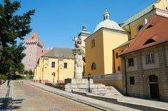 Een herdenkingsstandbeeld aan de Cavalerie van Poznan poznan Royalty-vrije Stock Foto