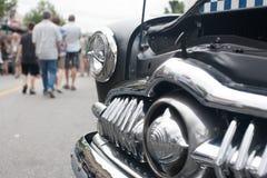 Een herstelde uitstekende Auto Stock Foto