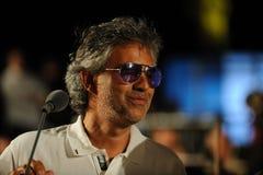 Andrea Bocelli Royalty-vrije Stock Afbeelding