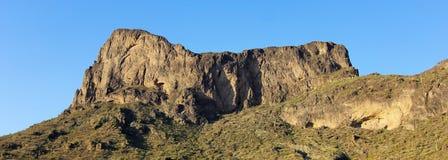 Een het Parkschot van de Staat van Picacho Piek, Arizona stock foto's