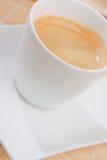 Een hete espresso Stock Afbeeldingen