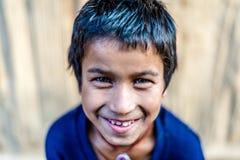 Een Himalayan-Jongen royalty-vrije stock fotografie