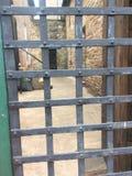 Een historisch beeld van een oude gevangenis stock afbeelding