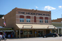 Een historisch gebouw in Zuid-Dakota royalty-vrije stock foto's