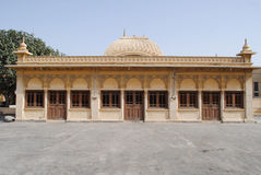 Een historische architectuur van Karachi stock afbeeldingen