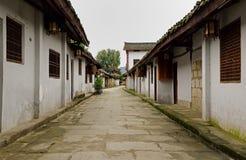 Een hoek van de oude stad Stock Foto