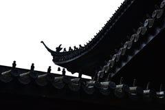 Een hoek van tempel Royalty-vrije Stock Foto