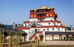 Een hoek van Vijf Verbinding Mandala, Wuyintancheng Stock Foto's