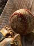 Een honkbal Royalty-vrije Stock Afbeeldingen