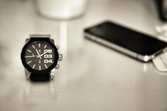 Een horloge Stock Foto's