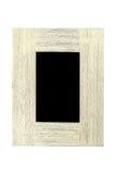Een houten geweven frame Stock Afbeelding