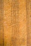Een houten hakbord in entrepot. Royalty-vrije Stock Foto's