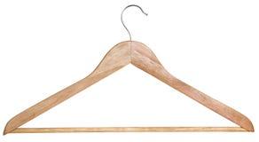 Een houten hanger Stock Fotografie