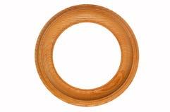 Een houten kader Royalty-vrije Stock Afbeeldingen