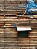 Een houten muur royalty-vrije stock foto's