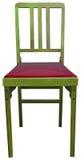 Een houten stoel Stock Afbeelding