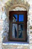 een houten venster Royalty-vrije Stock Foto's