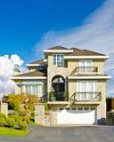 Een huis. stock foto's