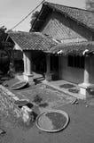Een huis in het dorp Royalty-vrije Stock Fotografie