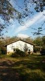 Een huis in het platteland royalty-vrije stock fotografie