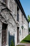 Een huis in Montreal stock afbeelding