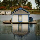 Een huisboot Stock Foto's