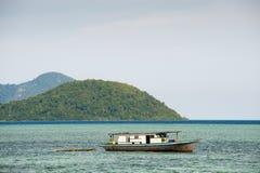 Een huisboot Royalty-vrije Stock Foto's