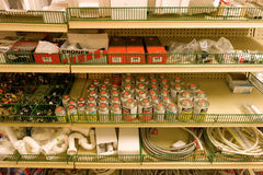 Een ijzerhandel in de Caraïben Royalty-vrije Stock Foto