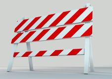 Een illustratie van de illustratie van de verkeersschraag Royalty-vrije Stock Foto's