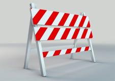 Een illustratie van de illustratie van de verkeersschraag Royalty-vrije Stock Afbeelding