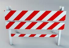 Een illustratie van de illustratie van de verkeersschraag Royalty-vrije Stock Fotografie