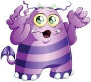 Monster 2 van Halloween Stock Afbeelding
