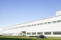 Een industrieel gebouw Royalty-vrije Stock Foto's