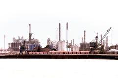 Een industriezone Royalty-vrije Stock Afbeelding