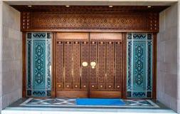 Een ingang van de moskee Stock Afbeelding