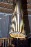 Een ingeschakelde lamp royalty-vrije stock afbeelding