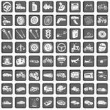 De pictogrammen van het vervoer Royalty-vrije Stock Foto's