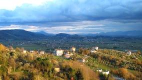 Een Italiaans platteland stock foto's