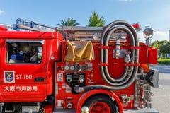 Een Japanse brandmotor Royalty-vrije Stock Afbeelding