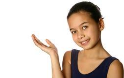 Een jonge en zekere ballerina royalty-vrije stock foto's