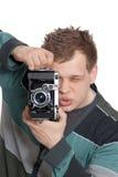 Een jonge mens Stock Fotografie