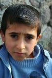 Een jongensportretten Stock Foto