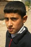 Een jongensportretten Stock Foto's