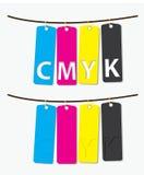 CMYK Royalty-vrije Stock Fotografie