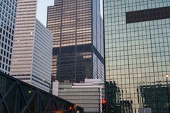 Een kader van Cityscape van Chicago royalty-vrije stock foto's