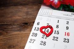 Een kalender Stock Foto's